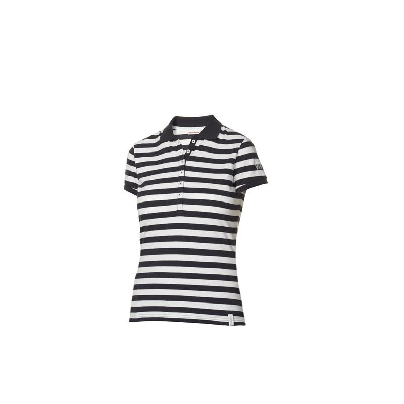 WOMEN'S STRIPED POLO